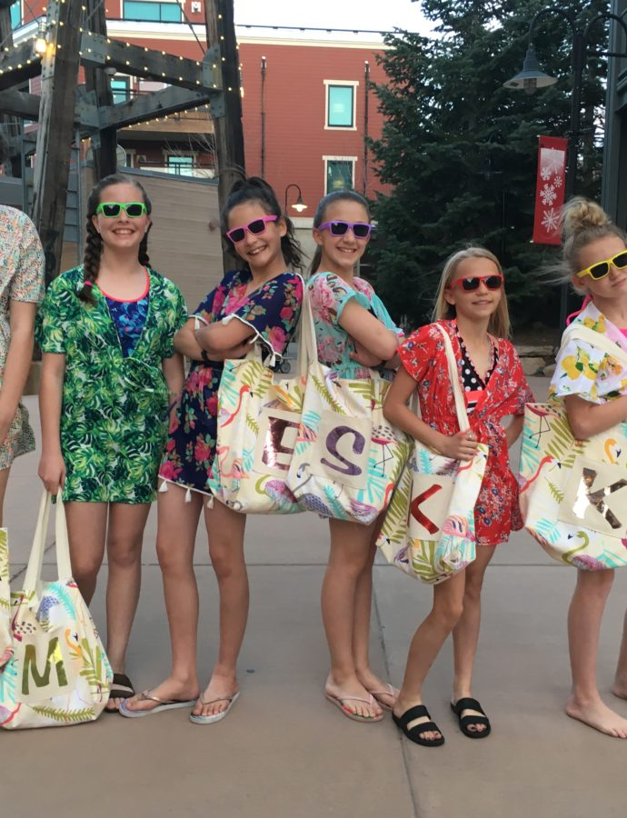 A Tween Beach Party