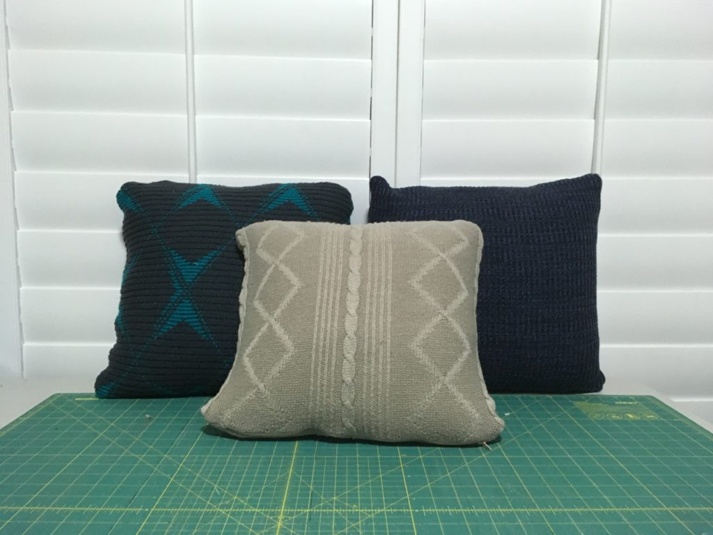 Sweater Pillow Tutorial How To Turn Old Clothes Into A