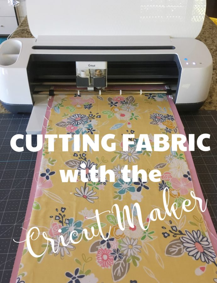 Cutting Your Fabric with Cricut + Riley Blake
