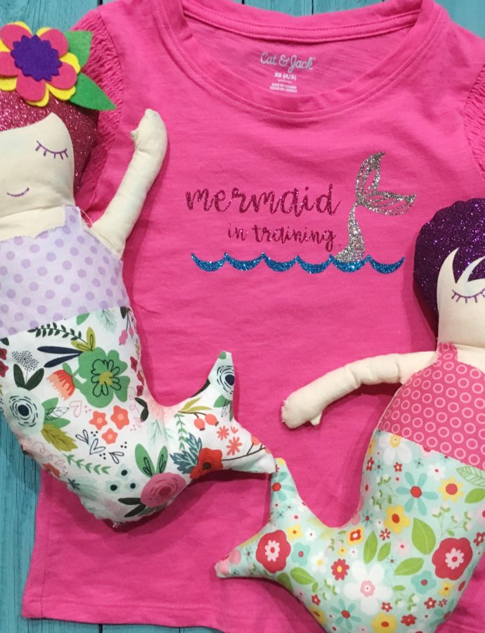 DIY: Mermaid in Training T-Shirt