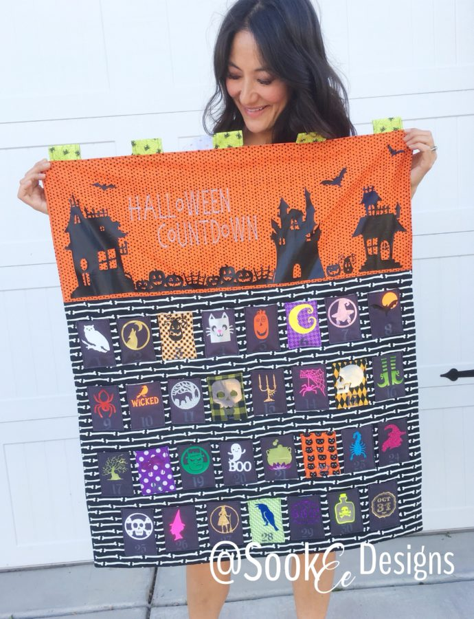 DIY: Halloween Advent Calendar