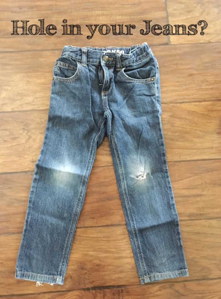 Quick Fix For Holes In Jeans Sookee Designs